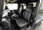 Jeep Wrangler JL Upholstery Kit - Black - Installed - Front driver seat
