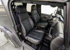 Jeep Wrangler JL Upholstery Kit - Black - Front passenger seat