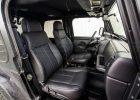 Jeep Wrangler JL Upholstery Kit - Black - Installed - Front interior passenger side