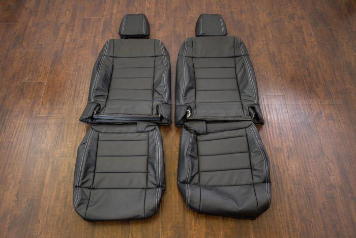 Jeep Wrangler Upholstery Kit - Black - Front seats