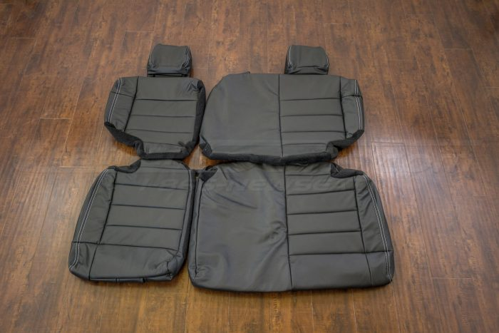 Jeep Wrangler Upholstery Kit - Black - Rear seats