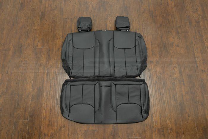 Jeep Wrangler Leather Seats - Black - Rear seats