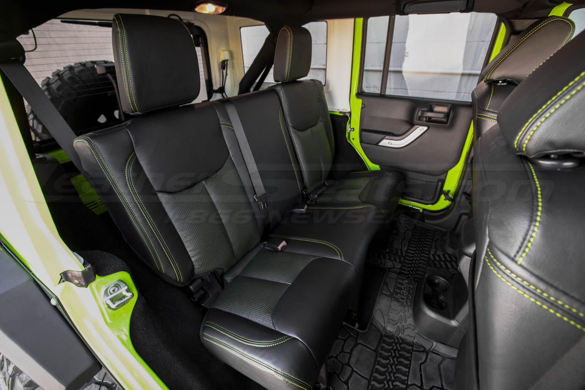 2013-2018 Jeep Wrangler install - Black & Piazza Green