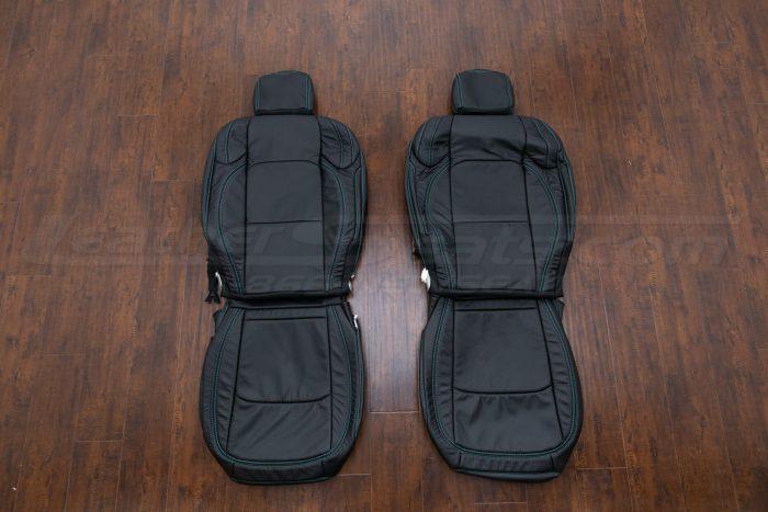 Jeep Wrangler JL Upholstery Kit - Black - Front seats