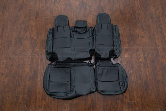 Jeep Wrangler JL Upholstery Kit - Black - Rear seats