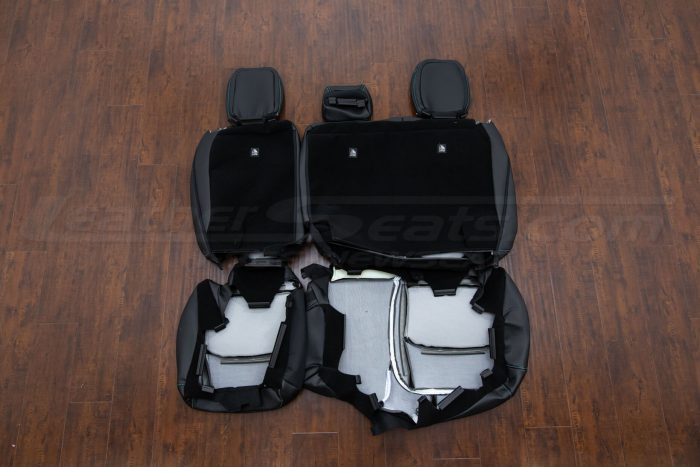 Jeep Wrangler JL Upholstery Kit - Black - Back of rear seats