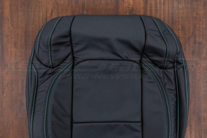 Jeep Wrangler JL Upholstery Kit - Black - Front backrest mid-range