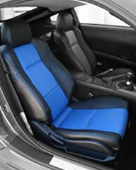 2003-2008 Nissan 350z Leather Seats - Half colored