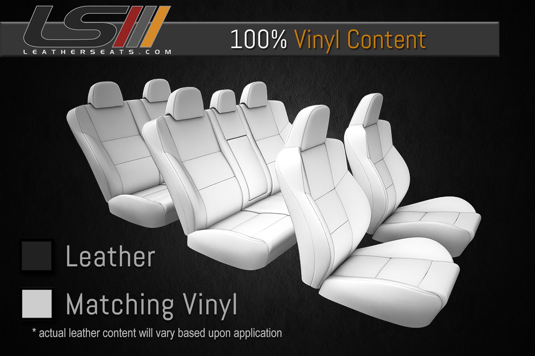 Leather Content - Three Row Interior - 100% Vinyl