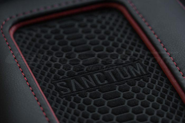 Sanctum Charging Console - Charging pad close-up