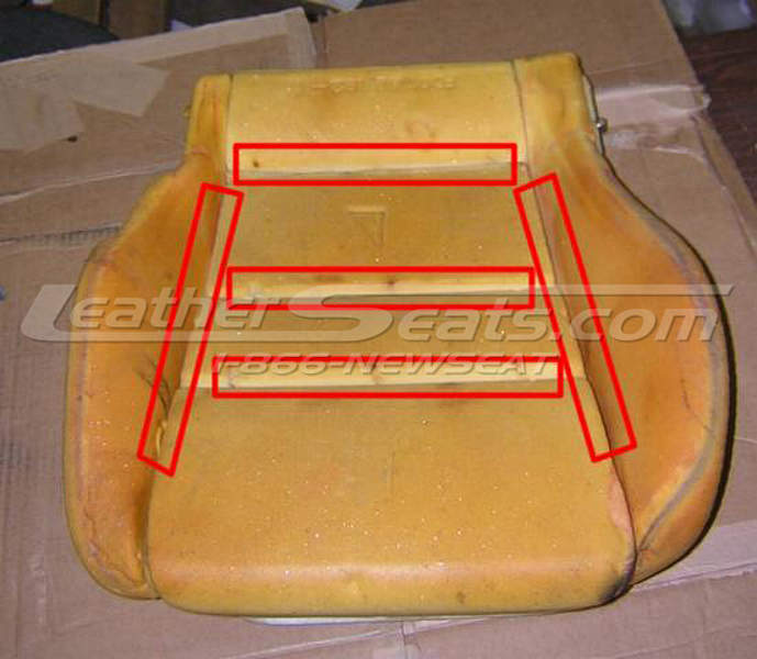 Factory foam seat cushion