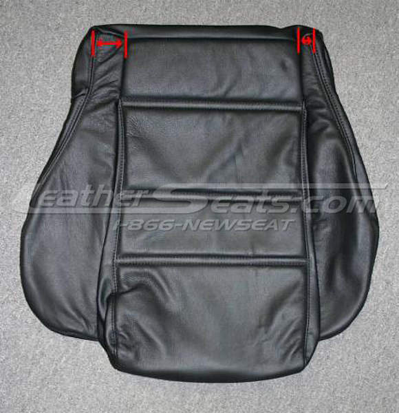 Mazda RX7 seat cushion upholstery replacement