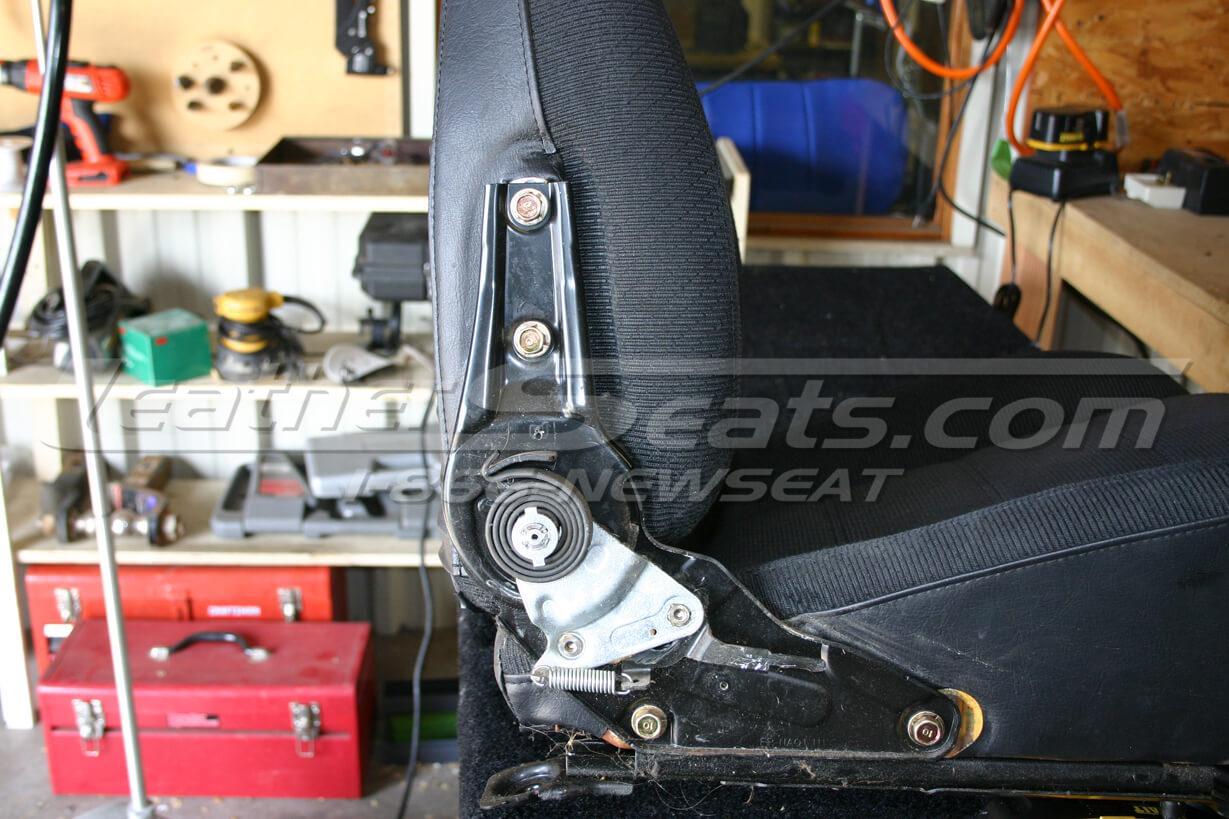 Mazda Miata plastic seat trim removal 3