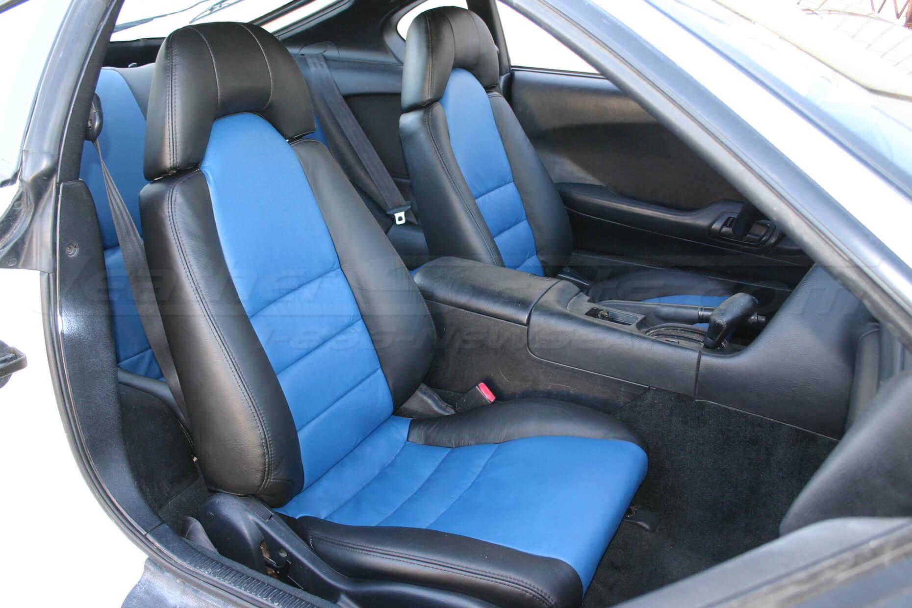 Toyota Supra install - Black/Cobalt