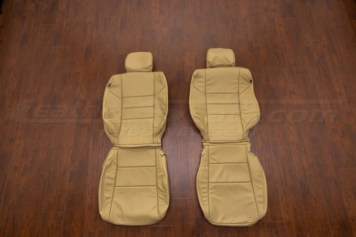 Honda Accord leather upholstery kit bamboo - front seats