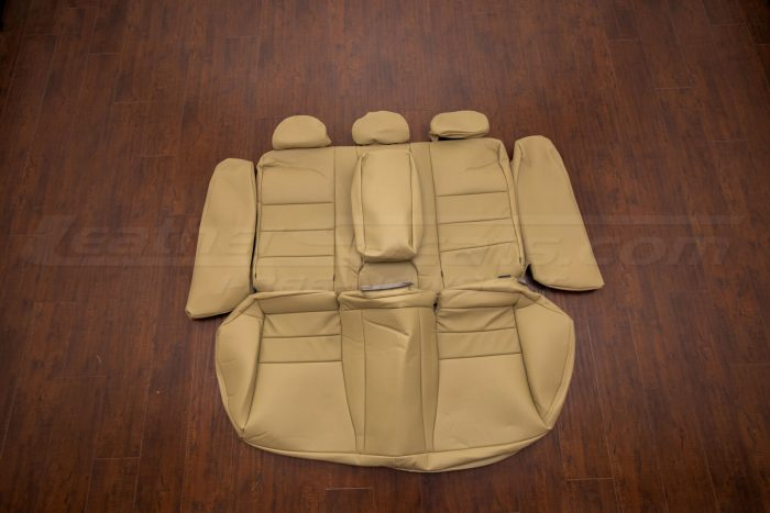 Honda Accord leather upholstery kit bamboo - rear seats