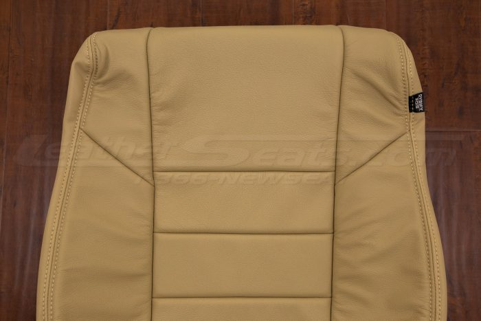 Half view of backrest cushion