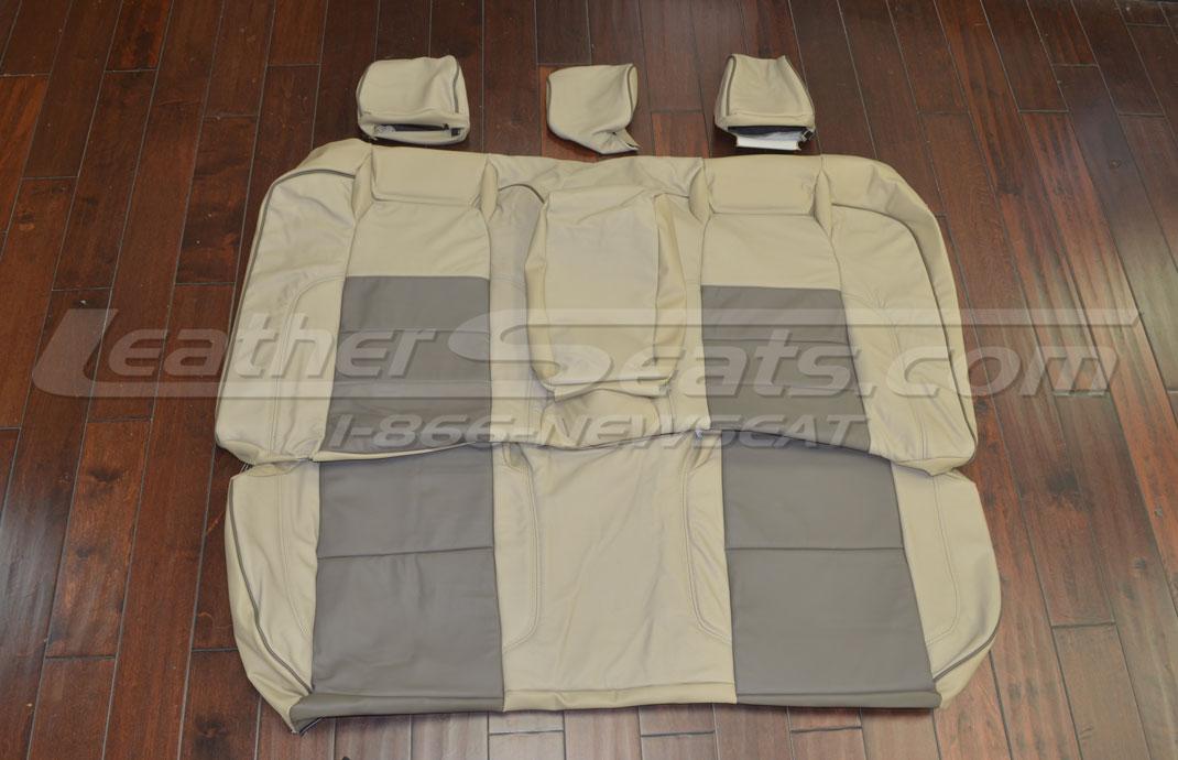 Lexus GS Upholstery Kit - Sandstone & Earth - Rear seats