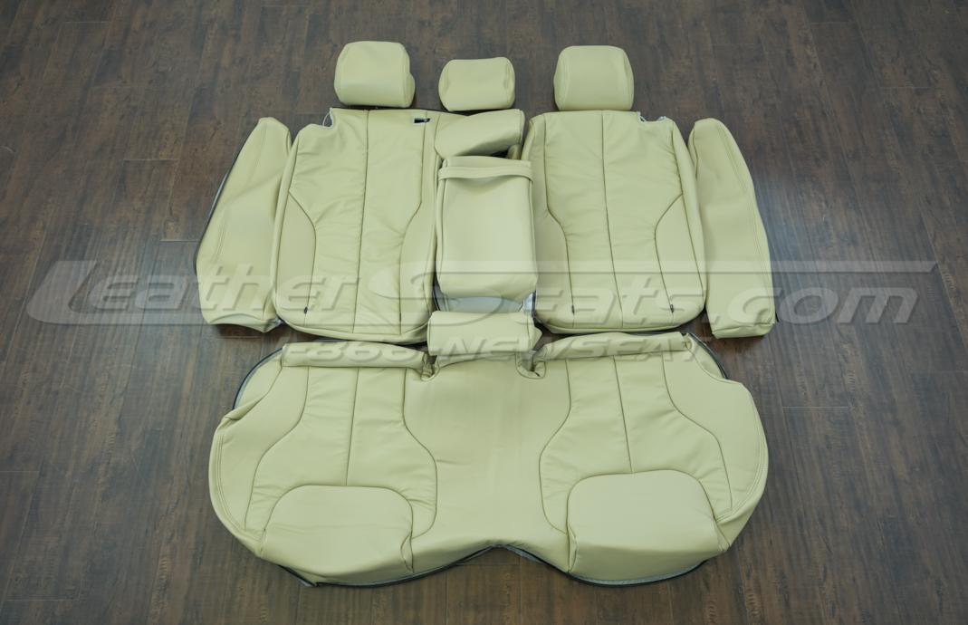 Volkswagen Passat cream upholstery kit - rear seats