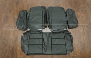BMW Leather Upholstery Kit- Black - Rear seats. with bolsters
