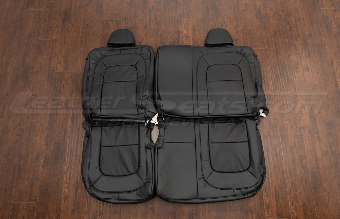 Chevrolet Colorado Leather Upholstery Kit - black - Rear seats