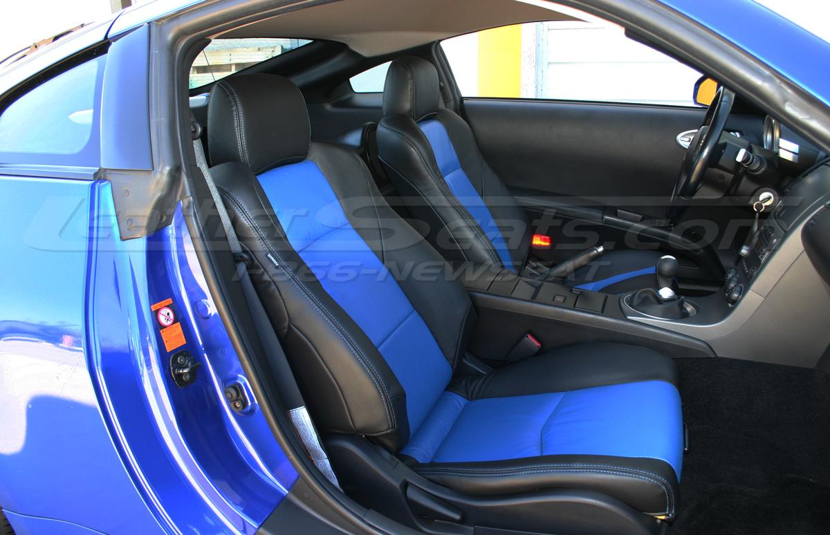 Nissan 350z installed passenger seat