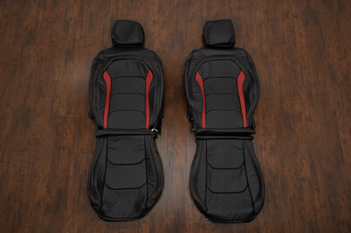 16-21 Chevrolet Camaro Upholstery Kit - Black & Red - Featured Image