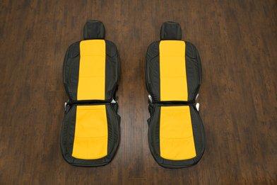 2018-2021 Jeep Wrangler Upholstery kit - Black & Velocity Yellow - Featured Image