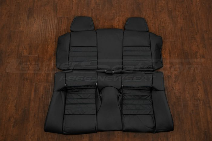 13-14 Ford Mustang Upholstery Kit - Black - Rear Seats