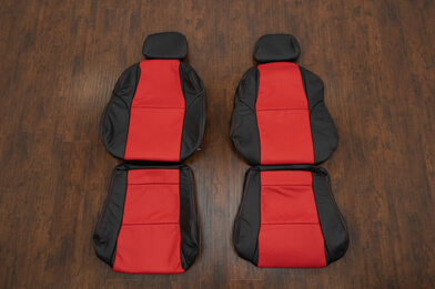 04-06 Pontiac GTO Leather Kit - Black & Bright Red - Featured Image