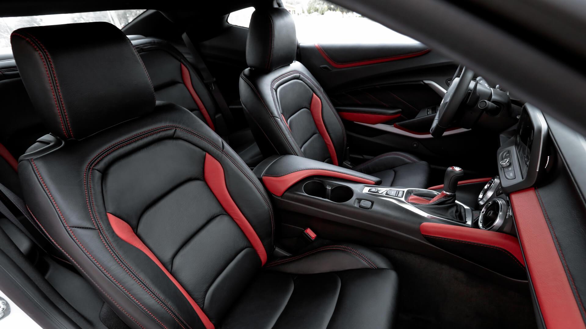 Custom Leather Interior - Leatherseats.com