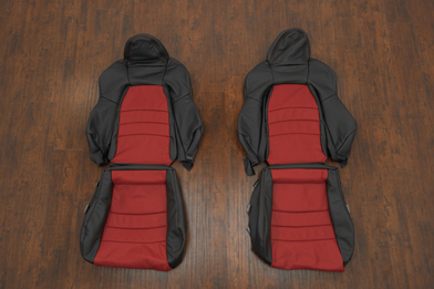 Honda S2000 Roadster Upholstery Kit - Black & Red - Featured Image