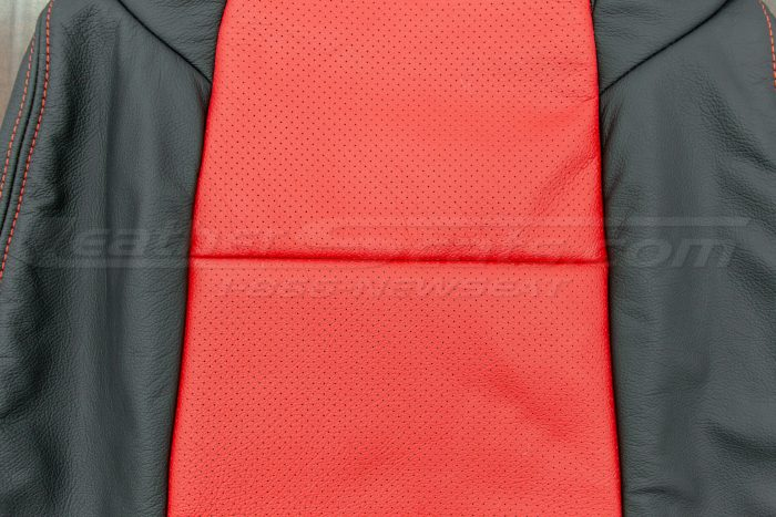 Perforated backrest