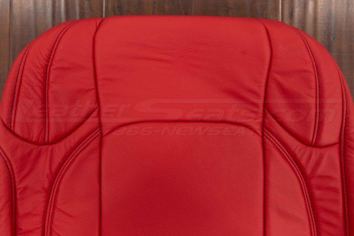 Upper section of backrest