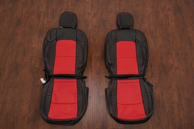 Jeep Wrangler JL Black & Bright Red Upholstery Kit - Featured Image