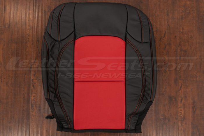 Front backrest upholstery