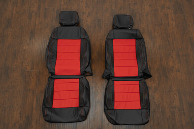07-10 Jeep Wrangler Upholstery Kit - Black / Bright Red - Featured Image