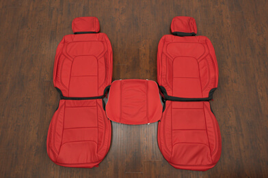 Dodge Ram Crew Cab Upholstery Kit - Bright Red - Featured Image