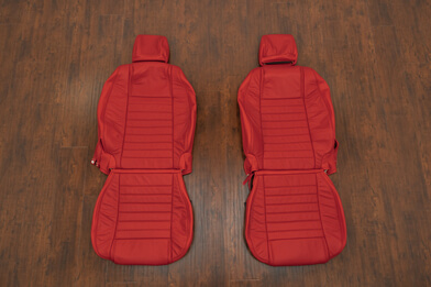Ford Mustang Leather Kit - Bright Red