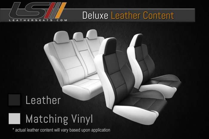 2 Row Deluxe Leather Content for Jeep