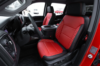 2019-2021 Chevrolet Silverado CNC Stitched Leather Seats - Featured Image
