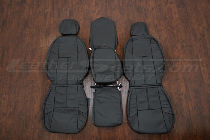 Chevrolet Silverado Leather Kit - dark Graphite - Front Seat Upholstery