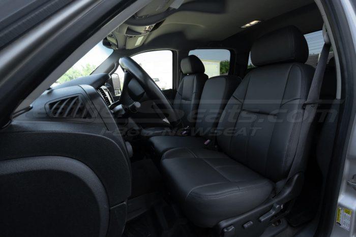 Chevrolet Silverado Dark Graphite Leather Seats