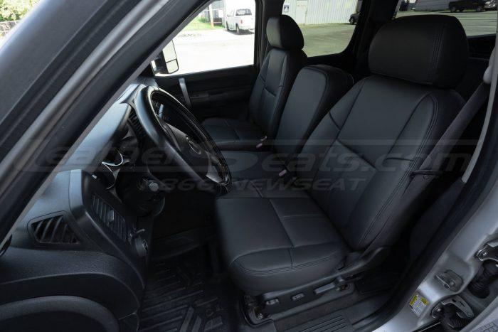Chevrolet Silverado - Dark Graphite Leather Seats - Front Driver