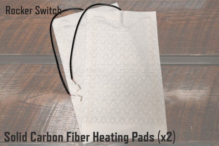 Rocker Switch Carbon Fiber Heating Pads