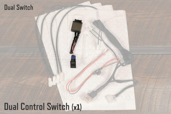 Dual Control Switch for Seat Heaters