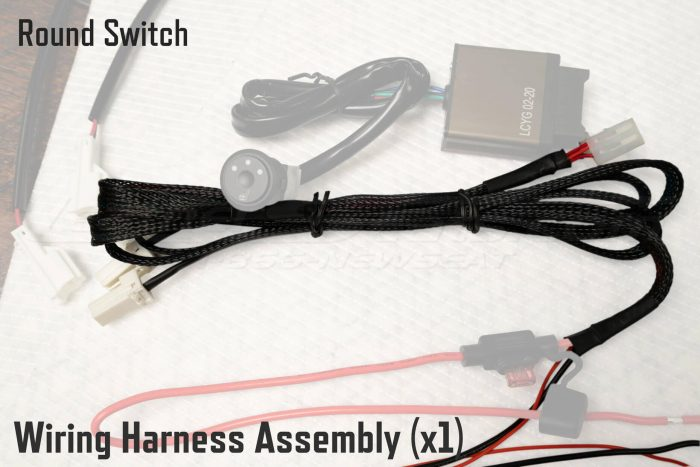 Round Switch Wiring Harness Assembly