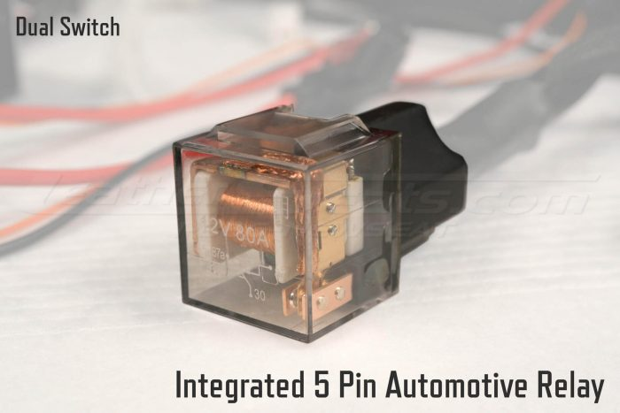 Dual Switch Automotive Seat Heaters Integrated 5 Pin Automotive Relay