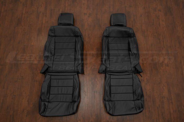 Jeep Wrangler JK Upholstery Kit - Black - Front seat upholstery