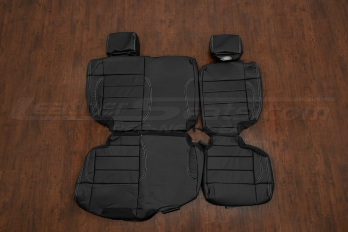 Jeep Wrangler Leather Interior - Rear seat upholstery